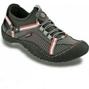 J-41 - JSport pink gray Tahoe trail ready sneakers